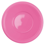 10 Bowls Plastic Bright Pink 355ml