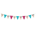 Pennant Banner My Birthday Party Paper 400 x 19 cm