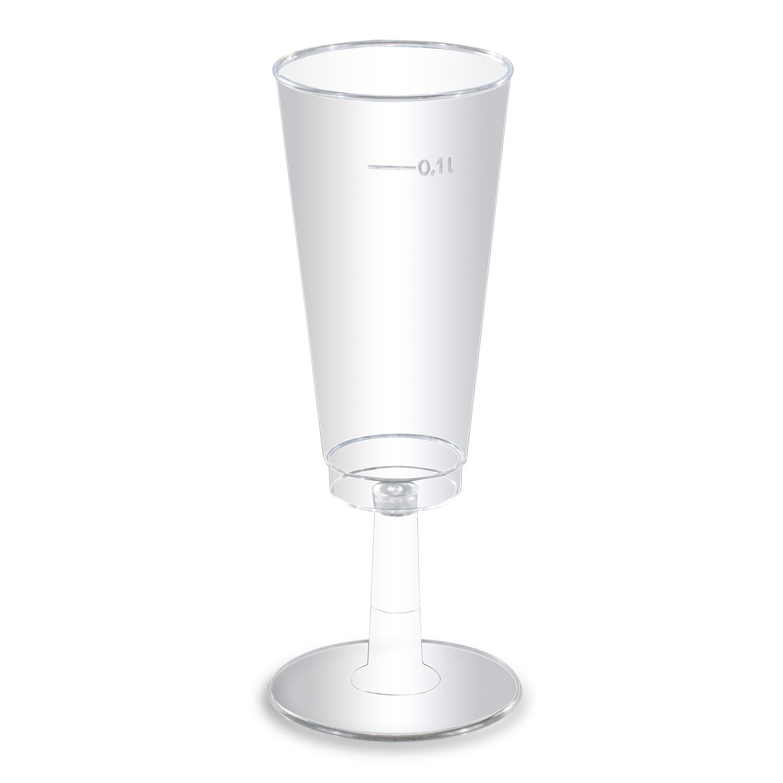 6 Cups clear Plastic 100 ml : Amscan Europe