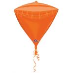 Diamondz Orange Foil Balloon G20 Bulk 38 x 43 cm
