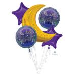 Bouquet Eid Foil Balloons P75 Packaged