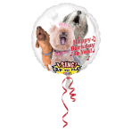 Sing-A-Tune Happy Bark Day to You Foil Balloon P60 Packaged 71 x 71 cm