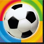 16 Napkins Championship Soccer 33 x 33 cm