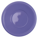 20 Bowls New Purple Plastic 355 ml