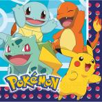 16 Napkins Pokemon 33 x 33 cm