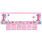 Giant Sign Banner Sweet Birthday Girl Personalize It 165 x 50.8 cm