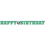 Letter Banner Championship Soccer Paper 130 x 10.2 cm