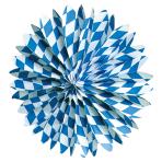 Fan Decoration Bavaria Paper 50 cm
