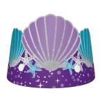 8 Tiaras Mermaid Wishes Paper 16 x 12.6 cm