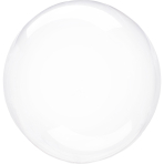 Clearz Crystal Clear Foil Balloon S40 bulk