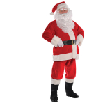 Adult Costume Santa Plush Size L/XL