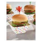 24 Snack Bowls Paper Minis rainbow 8,8 x 8,8 x 4,9cm