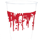 10 Cups Bloody Good Time Plastic 473 ml