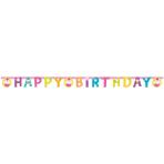Letter Banner Cupcake Paper 173 x 11 cm