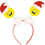 Headbopper Laughing Santa One Size