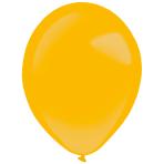 "50 Latex Balloons Decorator Metallic Gold 35 cm / 14"""