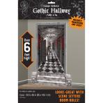 2 Scene Setter Add-Ons Gothic Hallway Plastic 165 x 85 cm