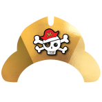 8 Party Hat Pirates Map