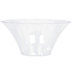 Bowl Flared Plastic Round Large 23.3 x 11.4 cm