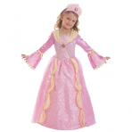 Girls' Costume Corolle Pink Medieval Princess 8 - 10 Years