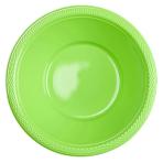 20 Bowls Kiwi Green Plastic 355 ml