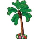 Wall Decoration Palm Tree     Paper 162 cm