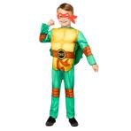 Child Costume TMNT Boys Age 4-6 Years