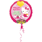 Sing-A-Tune Hello Kitty Birthday Foil Balloon P75 Packaged 71 x 71 cm