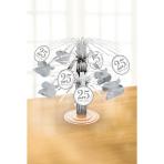 Cascade Centrepiece Silver Anniversaries Foil / Paper 19.1 c