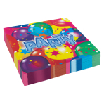 20 Napkins Ballon Party 2 33 x33 cm