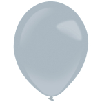 "50 Latex Balloons Decorator Fashion Grey 35 cm / 14"""