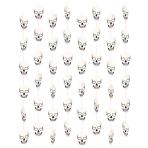 8 String Decorations Skulls Paper Length 130 cm