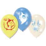 """6 Latex Balloons """"Yo-kai Watch"""", 22,8 cm/9"""