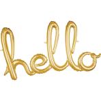 Script Phrase `Hello` Gold