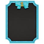 Chalkboard Sign 1st Birthday Blue MDF 22.8 x 17.7 cm