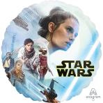 Standard Star Wars Episode IX Rise of Skywalker Foil Balloon circle S60 packaged