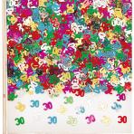 Confetti 30 Multicolour Foil 14 g