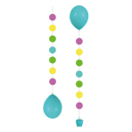 3 Balloon Tails for 11 Balloons Dots 50.8 cm