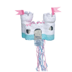 Pull Pinata Castle Paper / Plastic 38.1 x 33 x 27.9 cm
