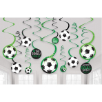 12 Swirl Decorations Goal Getter