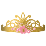 8 Tiaras Princess for a Day Paper