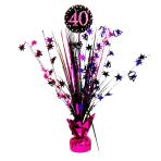 Spray Centrepiece 40 Sparkling Celebration - Pink Foil / Paper 45.7 cm