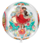 "Orbz ""Elena of Avalor"" Foil Balloon Clear, G40, packed, 38 x 40cm"