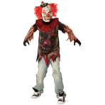 Child Costume Sideshow Clown Age 10 - 12 Years