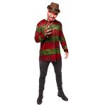Adult Costume Freddy Kruger Size Standard