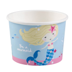 8 Ice Bowls Be a Mermaid Paper 270 ml