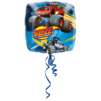"Standard ""Blaze and the Monster Machines"" Foil Balloon Square, S60, bulk, 43cm"