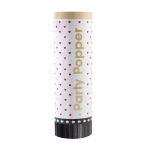 2 Party Popper Everyday Love Plastic / Paper 15 cm