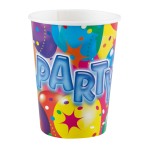8 Cups Ballon Party 2 Paper 250 ml