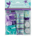 Favour Pack Mermaid Wishes Plastic / Paper 48 Pieces